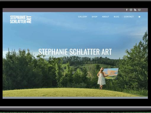 Stephanie Schlatter Art Website