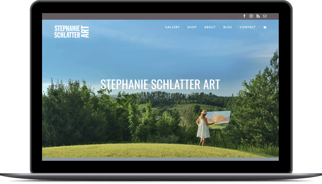 Stephanie Schlatter Art Website