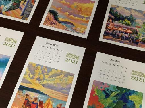 Stephanie Schlatter 2021 Calendar