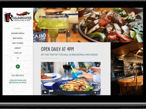 The Roadhouse Website Design