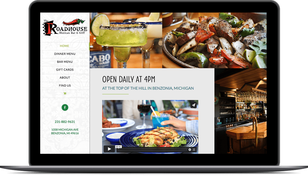 The Roadhouse Website Design